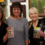 2014 Launch -- girls at leslie's book signing