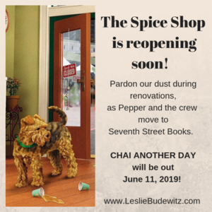 Leslie Budewitz's Chai Another Day