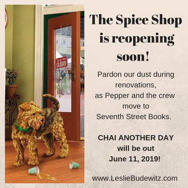 Leslie Budewitz's Spice Shop Mysteries