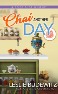 lleslie budewitz chai another day