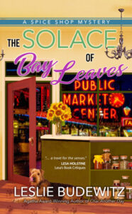 The Solace of Bay Leaves by Leslie Budewitz